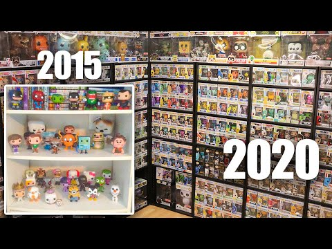 The Evolution of My Funko Pop Collection -2020