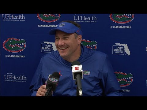 Florida Football: Dan Mullen Postgame 10-13-18