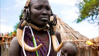Tribal Journeys: Mursi tribe trip to Africa Omo Valley in Ethiopia \ Племя Мурси в Эфиопии