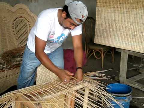 Wicker Chair Construction