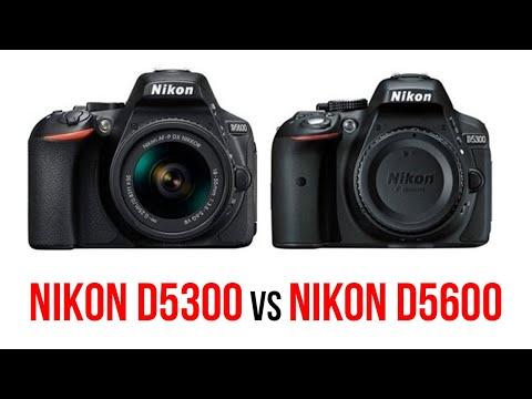 Nikon D5300 vs Nikon D5600 Comparison