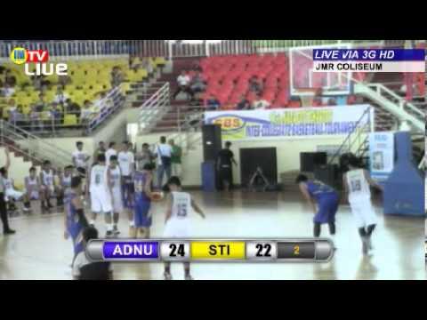 9th CBS Naga City Charter Inter-Collegiate Basketball Tournament: ADNU vs STI