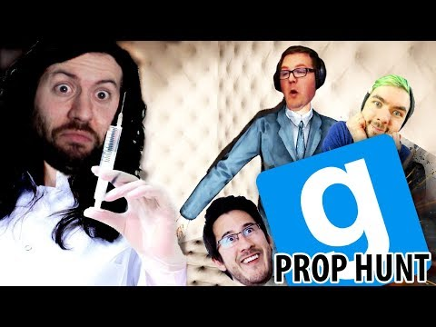 THE DOCTOR INJECTS IN THE REARICLES... | GMod Prop Hunt Funny Moments