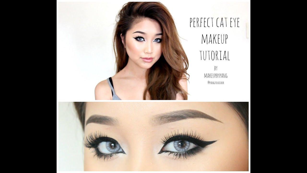 Perfect Cat Eye Makeup Tutorial Youtube