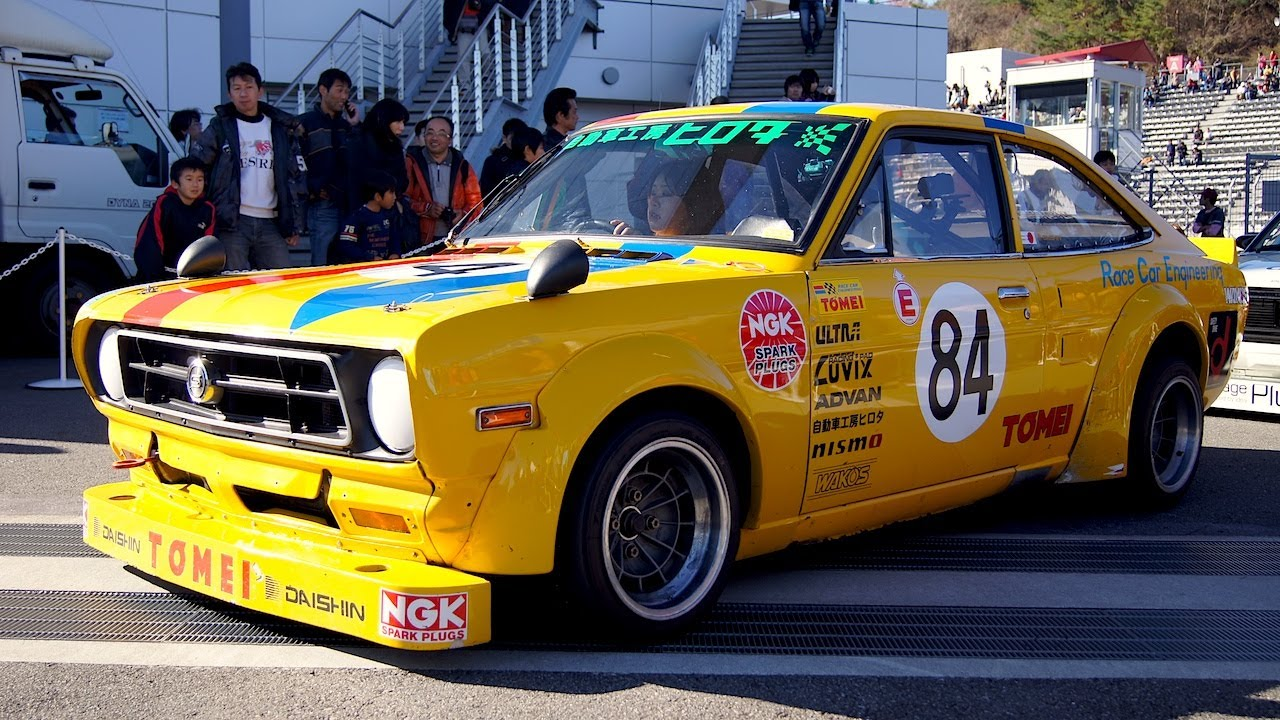 Nissan Historic Racing Cars - YouTube