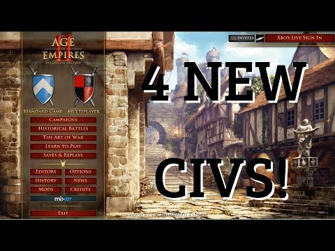 ALL NEW Civilizations In AoE2 Definitive Edition!