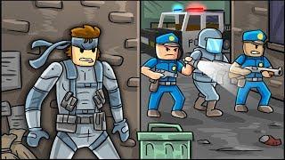 Roblox - ENTRY POINT: Top Secret Spy Mission! (Roblox Spy Spiel)