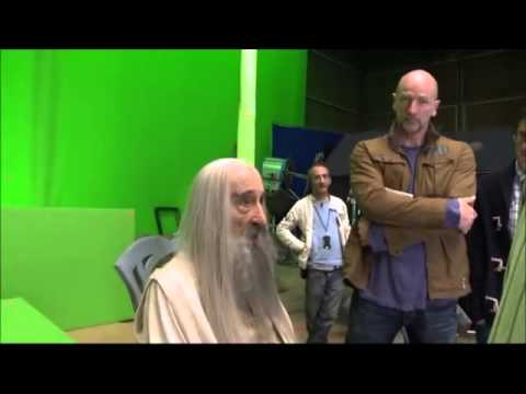 Sir Christopher Lee Filmed His Final Scene In  The Hobbit  Entirely Out Of Imagination   9GAG tv