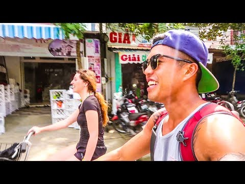 63 | HOI AN BICYCLING AND NIGHT LIFE!!! (Southeast Asia Travel VLOG)