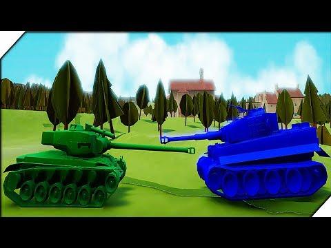 АМЕРИКАНСКАЯ КОМПАНИЯ # 1 - Игра Total Tank Simulator Demo 4