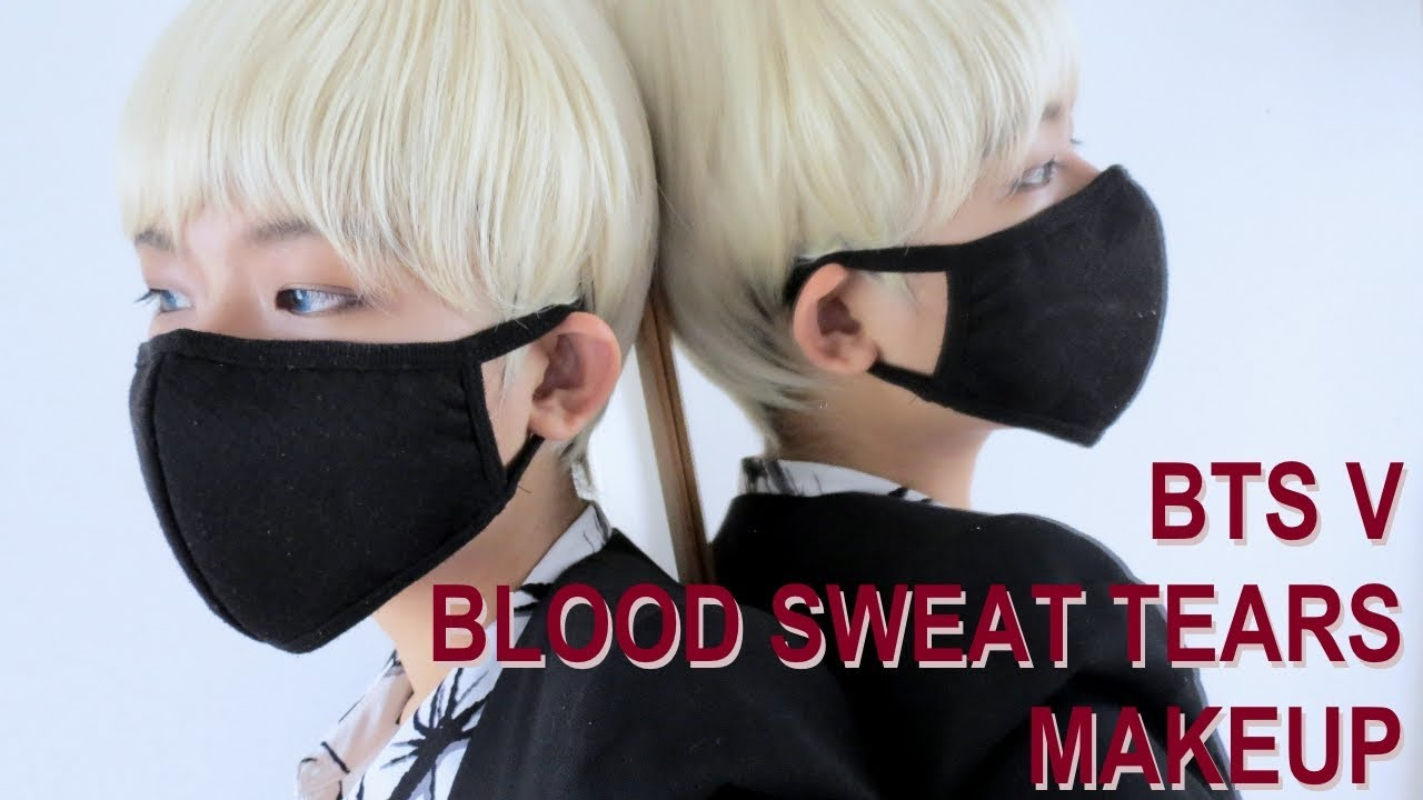BTS V Blood Sweat Tears Makeup Tutorial YouTube - Bts v hairstyle tutorial