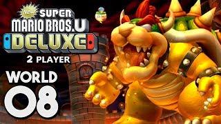 New Super Mario Bros. U Deluxe - World 8: Peach