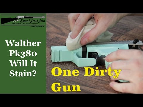 Does The Walther PK380 Stain?