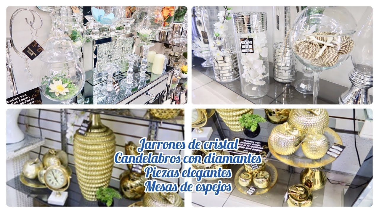 Ideas Para Decorar Jarrones De Cristal Candelabros Glamurosos Con Piedras Acrilicas Savvysandy