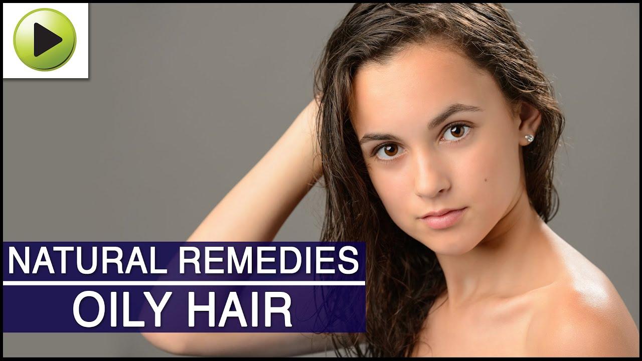 Hair oily remedies video