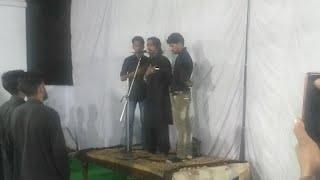 umme salma hussain mara gaya kashif zaidi syed nagli 22 moharram 1439h sadat tv