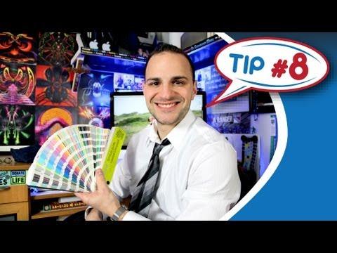 Graphic Designer Tip #8 - Using Pantone Colors - PMS