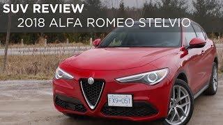 SUV Review | 2018 Alfa Romeo Stelvio | Driving.ca