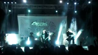 Carcass - Cadaver Pouch Conveyor System [Live @Agglutination Metal Fest, Senise, IT] 23Aug2014