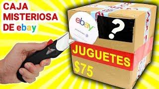 Abro Caja Misteriosa de JUGUETES de $75 de Ebay 📦❓ | Caja Sorpresa