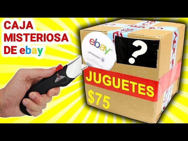 Abro Caja Misteriosa de JUGUETES de $75 de Ebay 📦❓   Caja Sorpresa