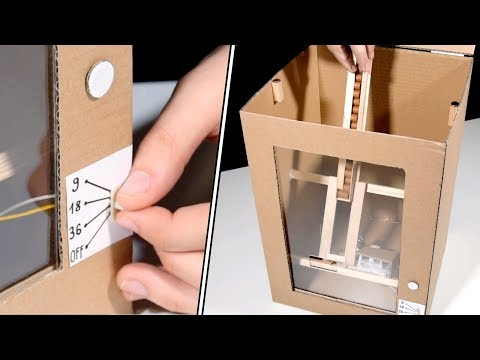 DIY AUTO TREAT BOX for DOGS - Make your dog happy!