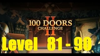 100 Doors Challenge 2 Level 81 - 90 Walkthrough - 100 Дверей Эпичный побег