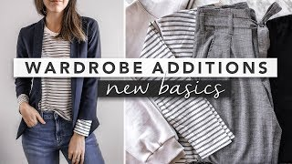 New Wardrobe Basics and How to Style Them | by Erin Elizabeth
