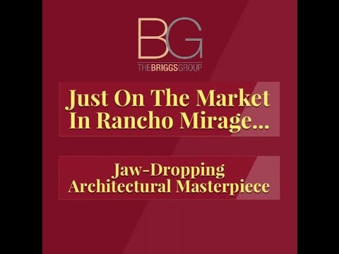 Architectural Masterpiece Just On The Market In Rancho Mirage