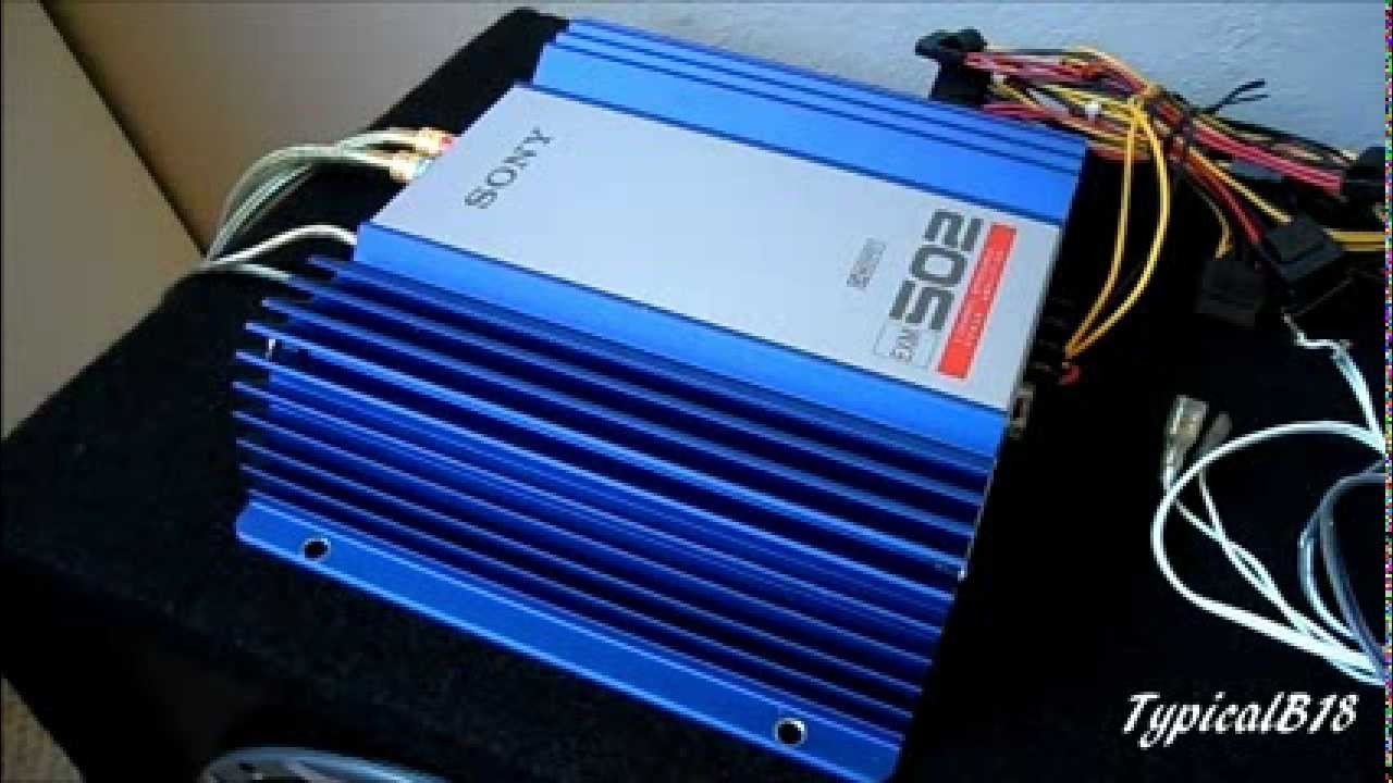 sony exm 502 2 channel car amplifier look test youtubeAmp Wiring Diagram Sony Xm 502x #8