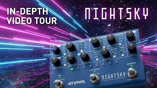 Strymon NightSky – In-Depth Tour with Sound Designer Pete Celi