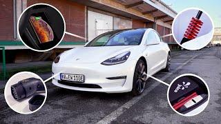 5 geniale & 2 schlechte Gadgets für's Tesla Model 3! - felixba