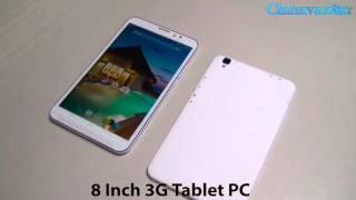 8 Inch Dual SIM Tablet Phone Review Chinavasion