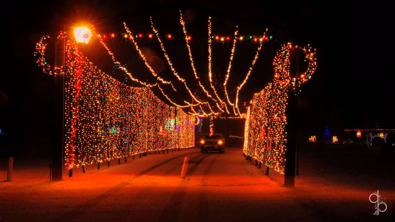TPA Park Christmas Lights Frankfort Indiana Produced by Erick F