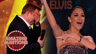 Download lagu TOP Elvis Presley Covers From X Factor Got Talent and Idols Around The World  X Factor Global
