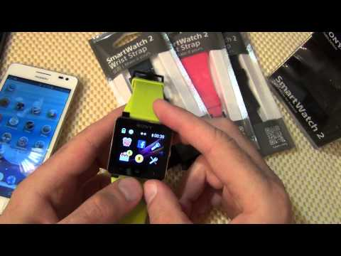 Sony Smartwatch 2 - Цифровые Часы / Арстайл /