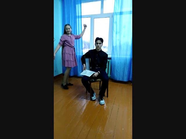 Изображение предпросмотра прочтения – «Анвар и Анна» читает произведение «Вчасы, когда бывает…» Ф.И.Тютчева