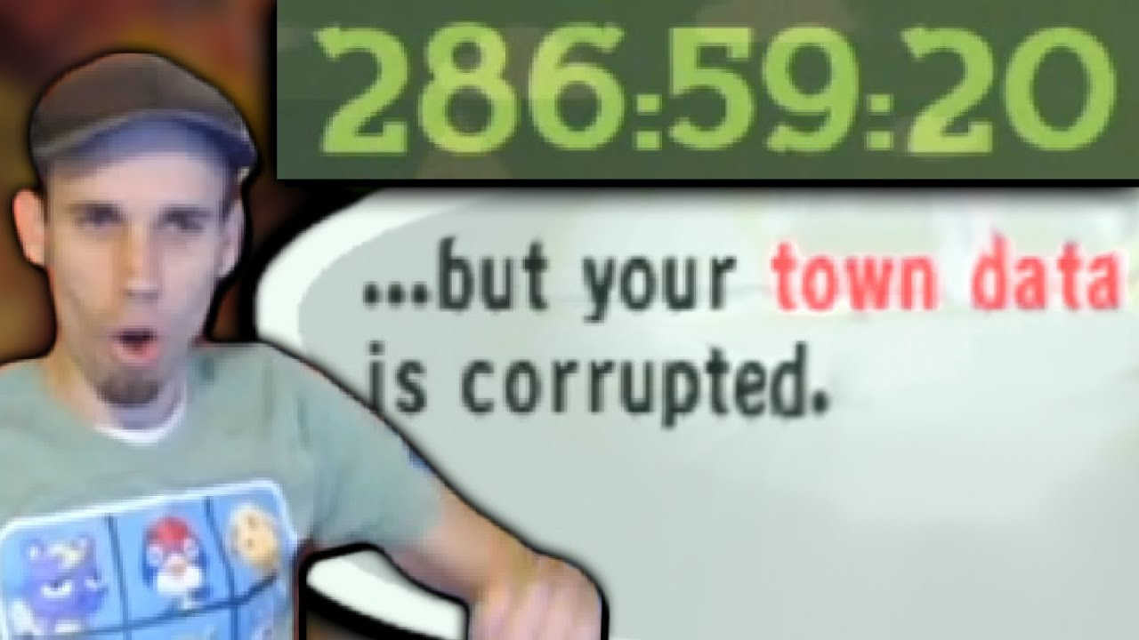 His Animal Crossing Save Corrupts After 286 Hours | Speedrun Community Highlights