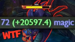 20,000+ DAMAGE LEAGUE OF LEGENDS BUG/GLITCH!!!