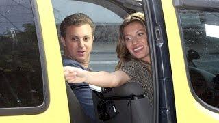 Gisele Bündchen no Vou de táxi.