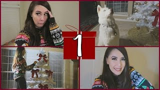 HE THOUGHT I WAS PREGNANT!!!   Vlogmas Day 1