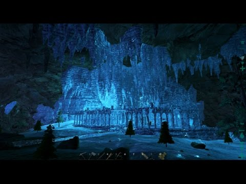 Ark Survival Evolved Ep8 Beautiful Ice Ruins Youtube
