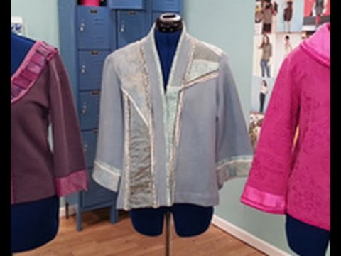 Londa Rohlfing Shows How To Create Sweatshirt Jackets On Its Sew