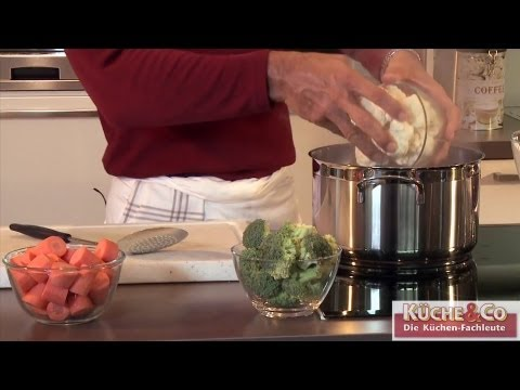 Gemüse blanchieren - Bruno's Küche