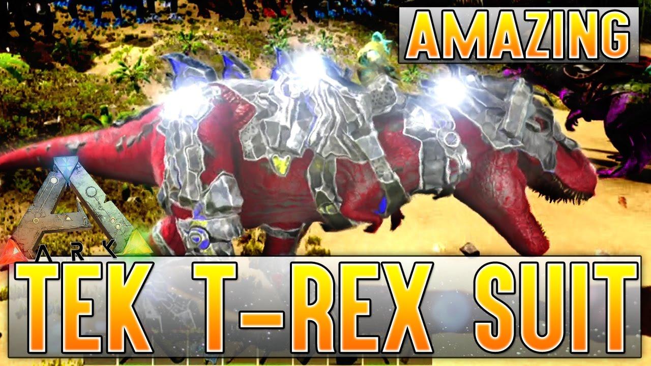 amazing tek rex costume