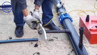 Hướng dẫn lắp đặt phụ kiện HDPE trên ống nhựa HDPE