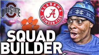 Top 10 Colleges - ONE PLAYER FROM EVERY TOP 10 COLLEGE TEAM! MADDEN 17 ULTIMATE SQUAD BUILDER