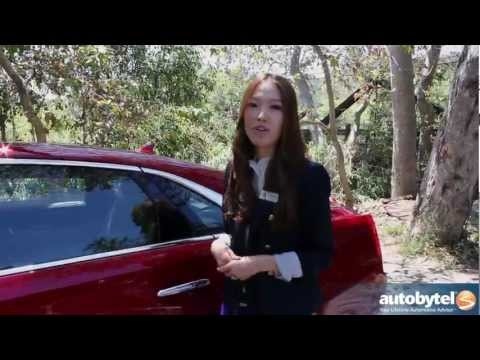 2013 Cadillac XTS Walkaround Car Review Video with Lead Designer Christine Park