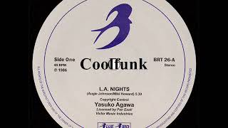 Yasuko Agawa - L.A. Night (12 inch 1986)