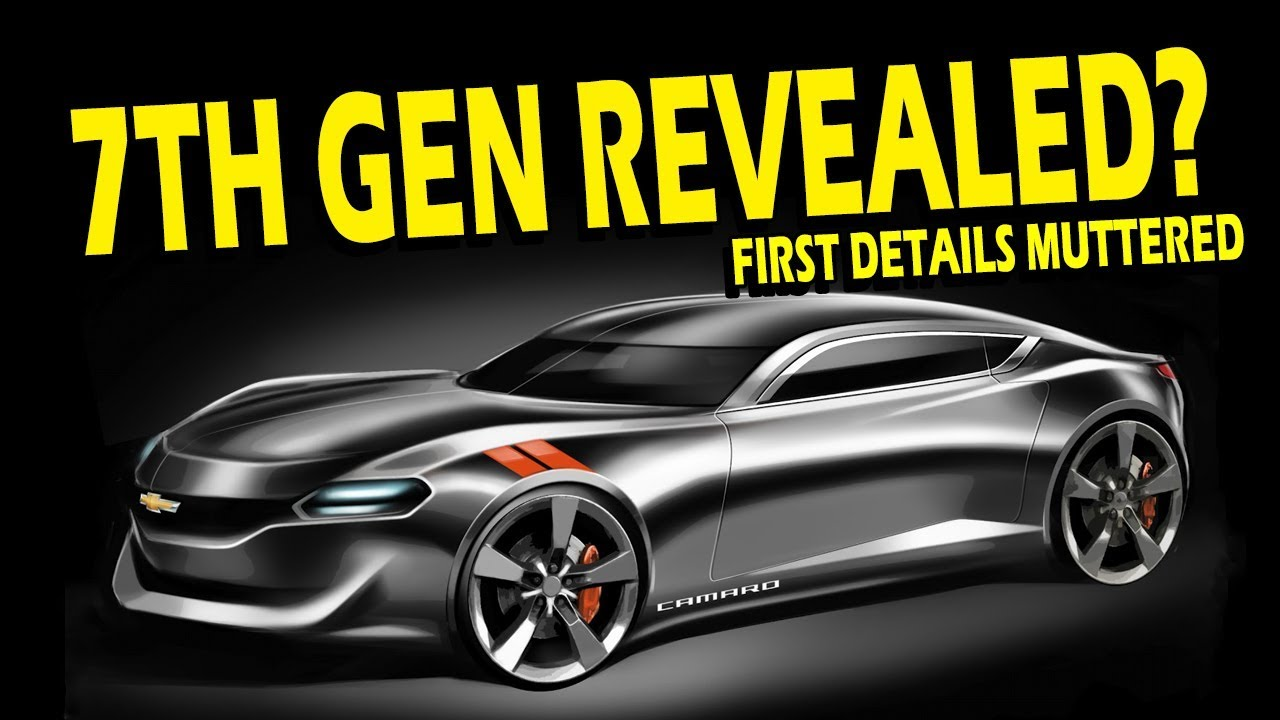 Rumor: 7th Gen Camaro Incoming and Playing a New Role! - YouTube